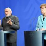 PM Modi & Angela Merkel