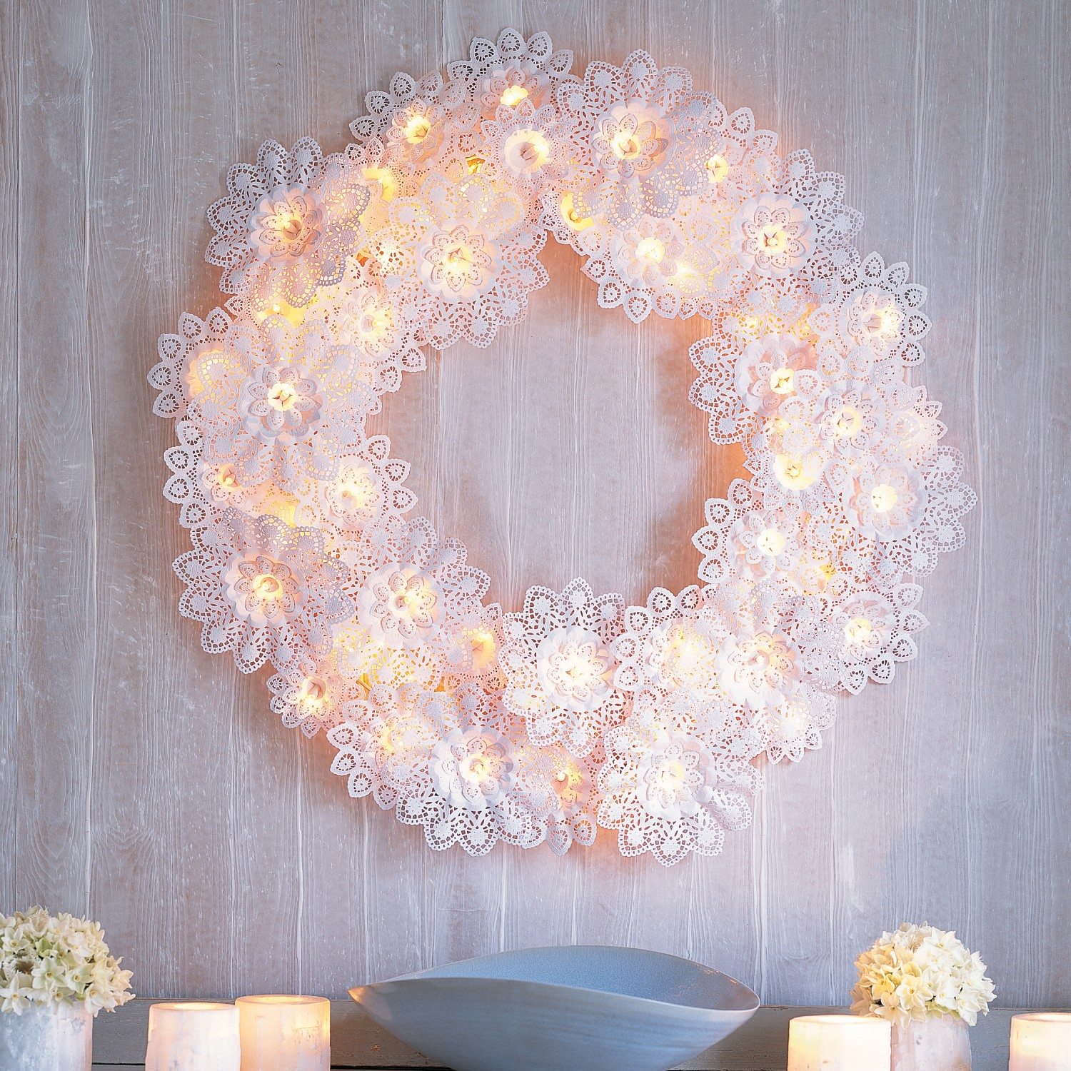 Christmas Craft Ideas With Paper Doilies : This season try new unique ways to decorate with