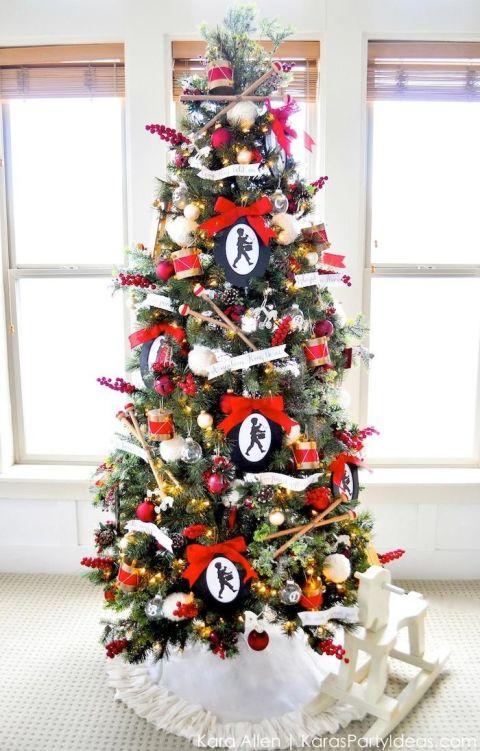 Airplane Christmas Tree Ornaments