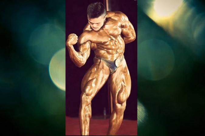 Manipuri bodybuilder