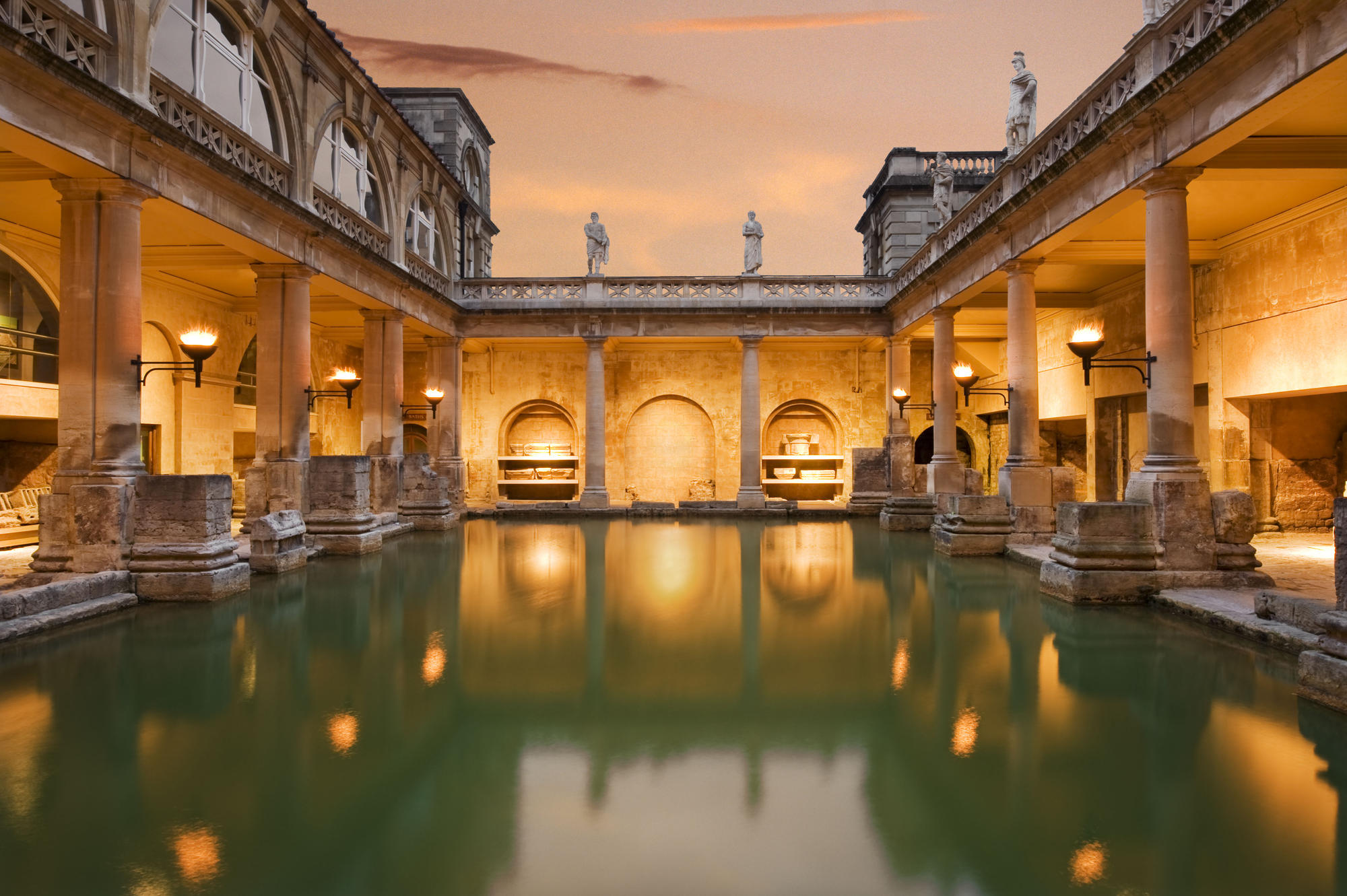 Showers And Baths Top 10 Wonders Of The World
