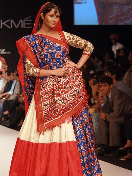 Seedha pallu from Gujarat