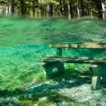The Enigmatic Wonderful Park in Austria Disappears Under Water During Spring