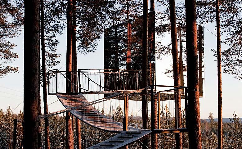 The Mirrorcube Tree House Hotel Sweden Khbuzz