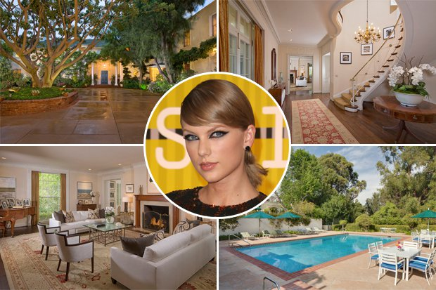 Taylor Swift Beverly Hills Mansion Khbuzz